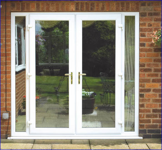 Upvc french doors for sale winstar upvc profiles india for Double french doors for sale